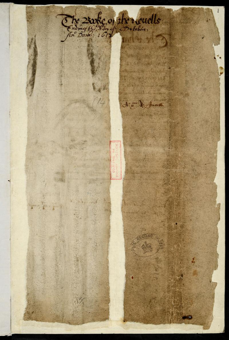 Account of Sir George Buc, Master of the Revels, listing