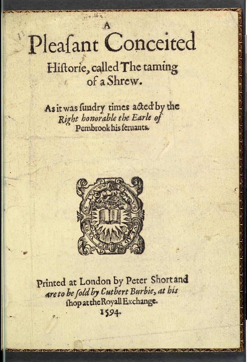 plot of taming of the shrew