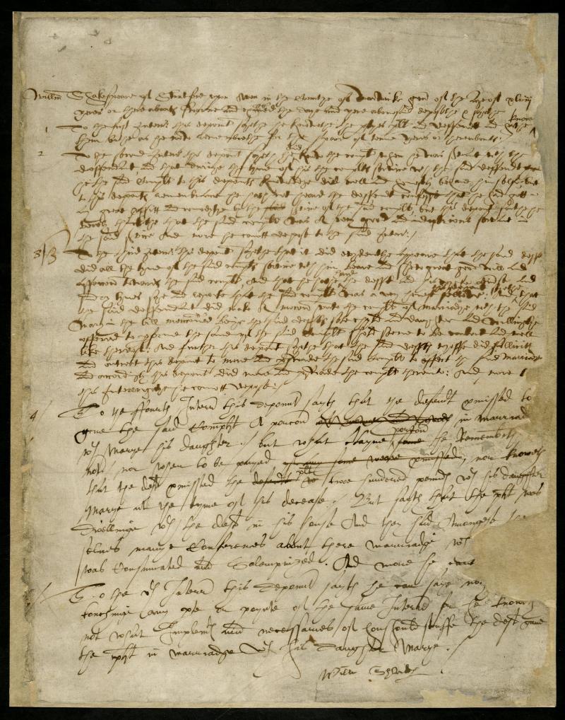 REQ 4/1/4/1, folio 1a recto